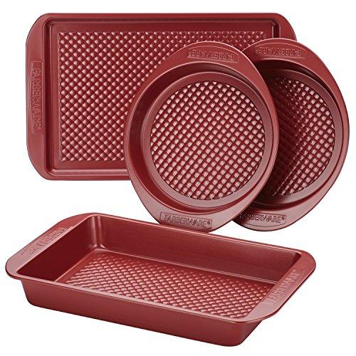 Farberware Nonstick Bakeware Set with Nonstick Cookie Sheet
