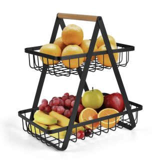 Vegetable Rack Bread Display Stand for Kitchen