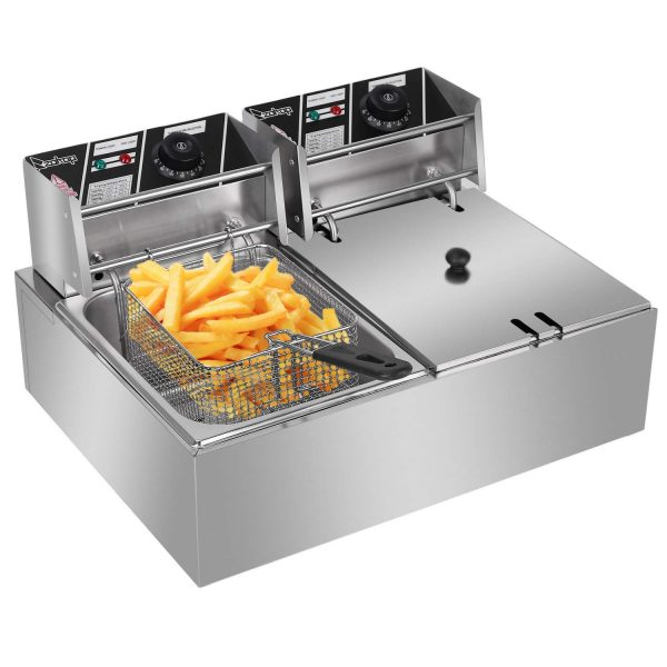 Commercial Stainless Steel Deep Fryer