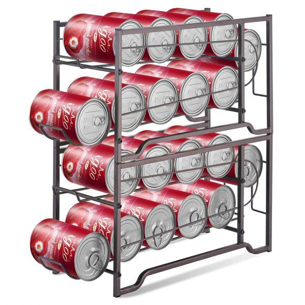 Simple Trending 2-Pack Soda Can Beverage Dispenser Rack