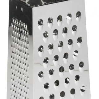 "4 Sided 10"" Box Cheese Grater"