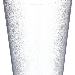 Carlisle 5232-8207 BPA Free Plastic Stackable Tumbler, 32 oz., Clear (Pack of 6)