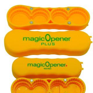 Arthritis Bottle Opener - magic Opener COMBO | Water Bottle Opener | Twist-off - Plastic Bottles | Easily open over 16 different plastic cap sizes | Arthritis Help | Arthritis Aids |Pull Tab Soup Cans
