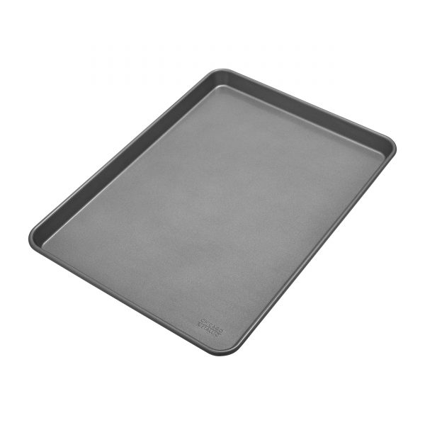 Chicago Metallic Commercial II Non-Stick Jelly Roll Pan, 17-1/2 by 12-1/2 Inch