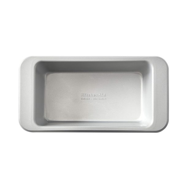 KitchenAid Nonstick Steel Loaf Pan, Silver