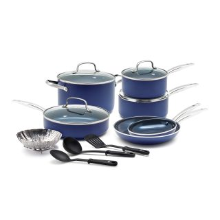 Blue Diamond Pan Cookware-Set, 14 Piece