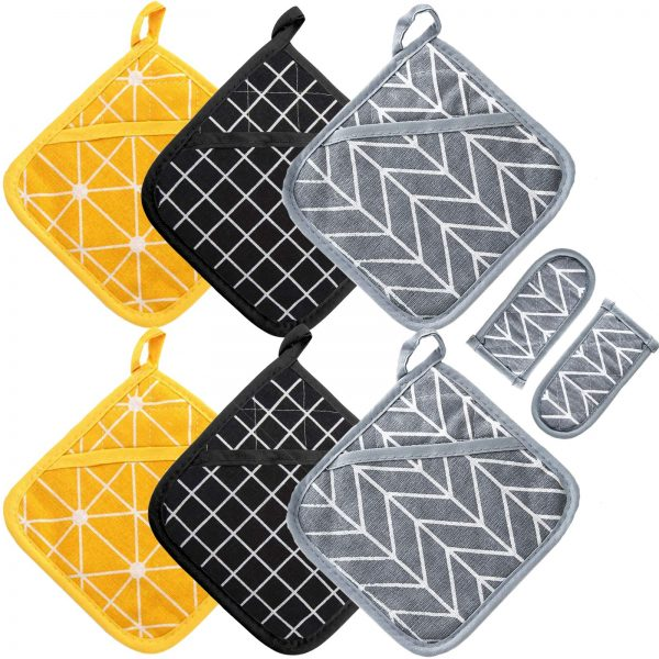 Change Heat Resistant Potholders Hot Pads