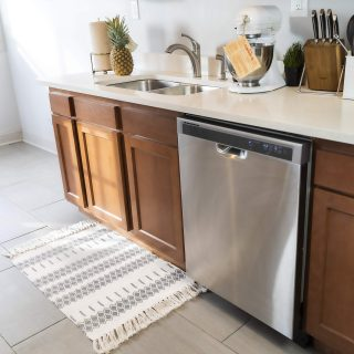 Kitchen Rugs with Printed Patterns - Made with Cotton
