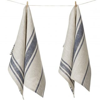 Pure Flax Linen Kitchen Tea Towels
